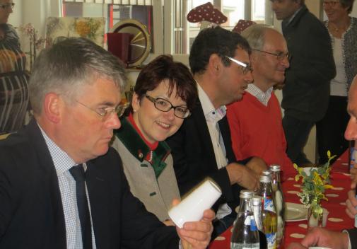 Betriebsbesichtigung bei Fa. Holzbau Binz mit Frau Dr. Inge Gräßle