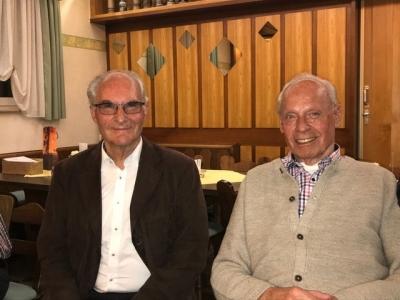 Manfred Schneider und Franz Schenk wurden zu Ehrenmitgliedern der MIT-Ostalb ernannt.